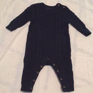 Baby Boy Sweater Onesie